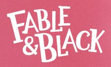 Bladwijzers Fable & Black