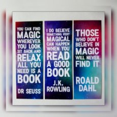 Magic Quotes Bookmark Set