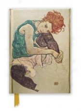 Flame Tree - Egon Schiele, Seated Woman Notebook