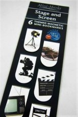 Mini-Marks Magnetic Bookmarks - Stage and Screen