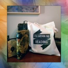 Totebag 004 I'd rather be reading